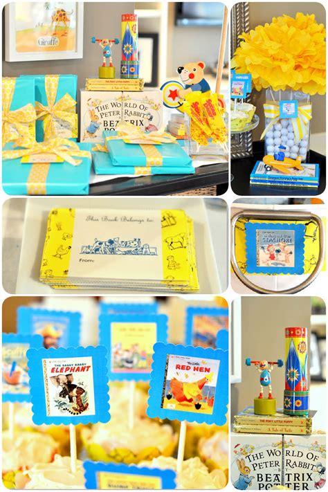 Book Baby Shower by Golden Books Baby Shower Free Printables Pizzazzerie