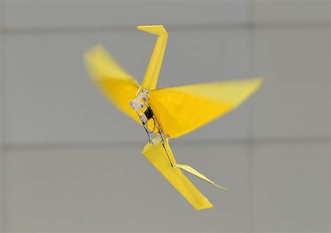 origami robots harvard s origami inspired folding robot can run without