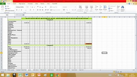 50 30 20 Budget Spreadsheet Template Spreadsheets 50 30 20 Budget Template