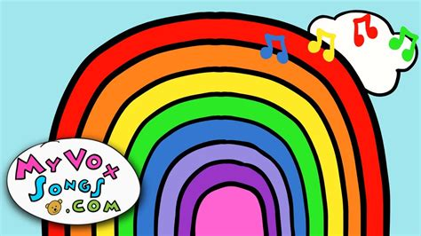 how many colors does a rainbow i can sing a rainbow rainbow song