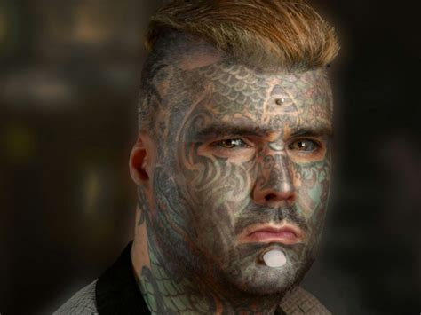 most tattooed man in britain sets new world record