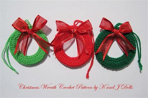 free patterns christmas tree decorations crocheted christmas tree ornaments