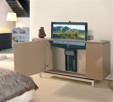 tv cabinet with lift system motorized tv lift for large tv panels in the h 228 fele