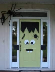 How To Decorate Your Door For Halloween Silly Monster Door Decor Homejelly