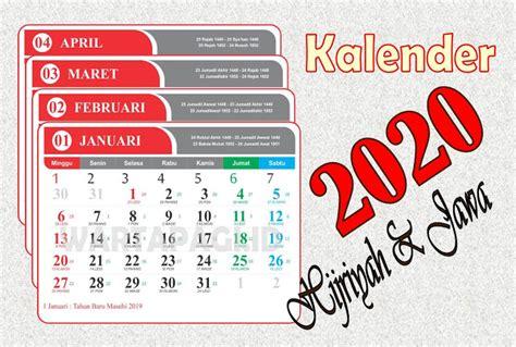 kalender  indonesia  lengkap tanggal hijriah  jawa warta pagi
