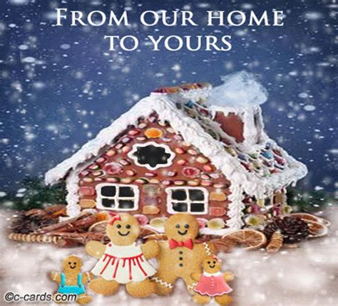 gingerbread house    home   ecards greeting cards