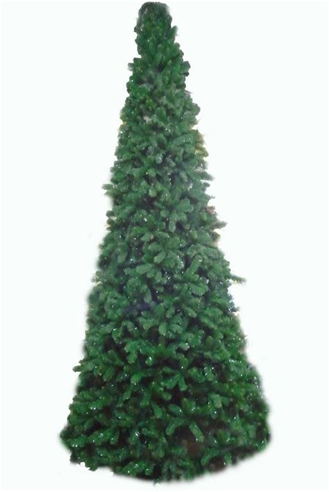 artificial slim glacier christmas tree just artificial