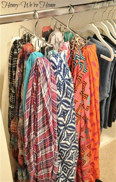 organize scarves in closet best 25 organizing scarves ideas on