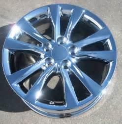 Factory Lexus Rims Set Of 4 New 17 Quot Factory Lexus Es350 Oem Chrome Wheels