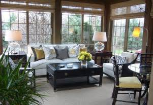 Sunroom Interiors Choosing Sunroom Furniture To Match Your Design Style