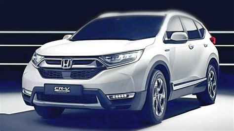 Honda Crv Hybrid 2018 by 2018 Honda Cr V Hybrid Concept All New Honda Cr V 2018