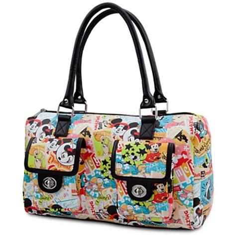 disney handbag classic collage purse mickey mouse