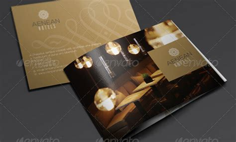 elegant brochure template 10 glorious hotel brochure