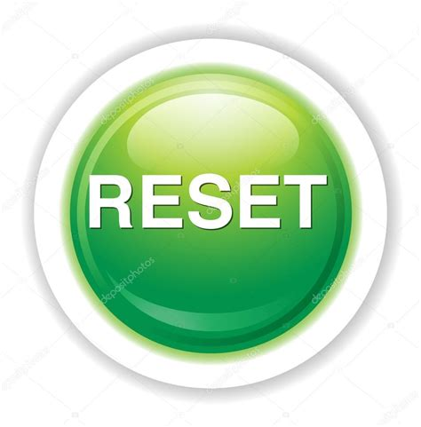 reset button icon stock vector 169 sarahdesign85 70279995