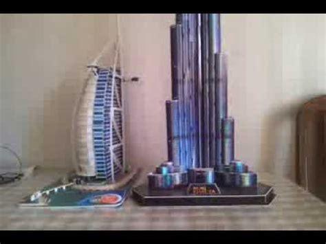 How To Make Burj Khalifa Out Of Paper - burj al arab and burj khalifa 3d model www hop az