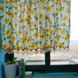 Sunflower Curtains Kitchen Sunflowers Kitchen Window Curtain Bathroom Curtain Contemporary Shower Curtains By Sinofaucet