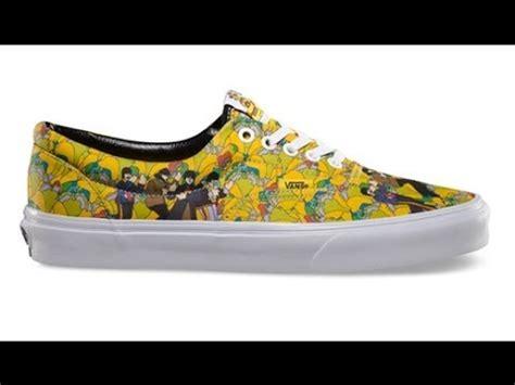 Harga Vans Yellow Submarine shoe review vans x the beatles yellow submarine era garden true white