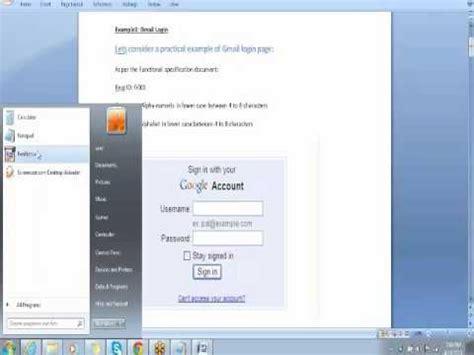 website testing tutorial manual qa online training qa tutorials software qa tutorials