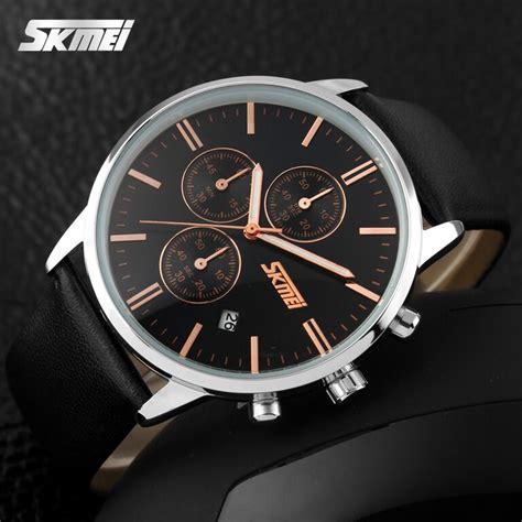 Skmei Casual Leather Keren 30m 9103cl skmei jam tangan analog pria 9103cl black black jakartanotebook