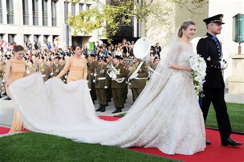 Brautkleider Größe 42 by Hochzeitskleider Elie Saab Die Bekanntesten