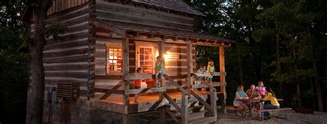 cabin city the wilderness cabins cing branson mo