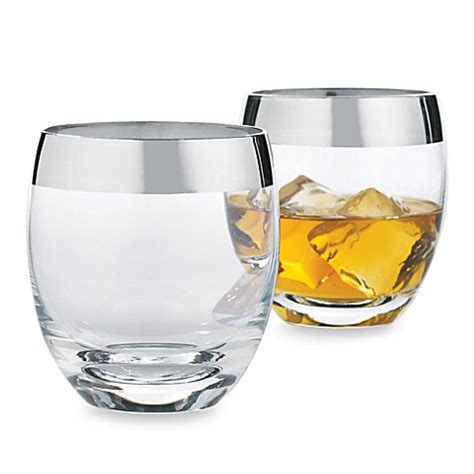 bed bath and beyond glasses buy wine enthusiast madison avenue whiskey glasses set of