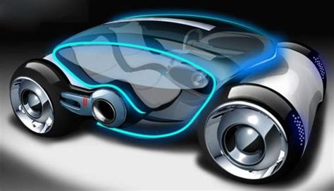 Prototype Electric Cars Of The Future Future Transportation All Electric Concept Car