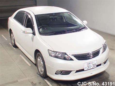 Toyota Allion For Sale In Japan 2010 Toyota Allion Pearl For Sale Stock No 43191