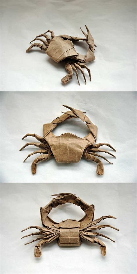 How To Make Paper Crab - 26 great origami models for when you re feeling a bit crabby