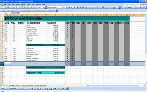 bill payment spreadsheet excel templates bill pay template new calendar template site