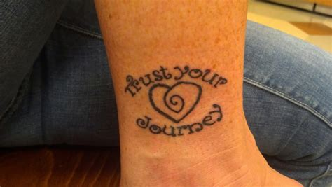 trust wrist tattoo this trust your journey tyj tattoos for the