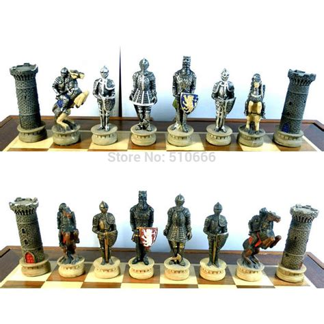 theme chess sets international chess set chess piece medieval knights theme
