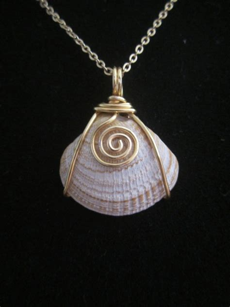 shells for jewelry 36 best images about wirewrapped shells on