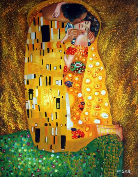 28 paintings for sale buy original archive original 20x24 inch klimt the hug portrait made