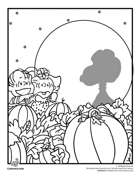 great pumpkin charlie brown coloring pages coloring home