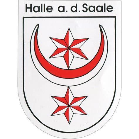 Motorrad Kaufen Halle Saale by Aufkleber Halle An Der Saale Wappen 301564 Gr Ca 6