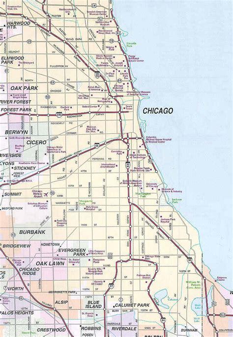 chicago mapa image gallery mapa chicago