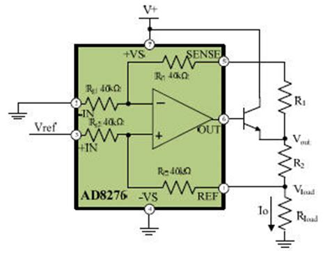precision matched resistors difference lifier forms of precision current source analog devices