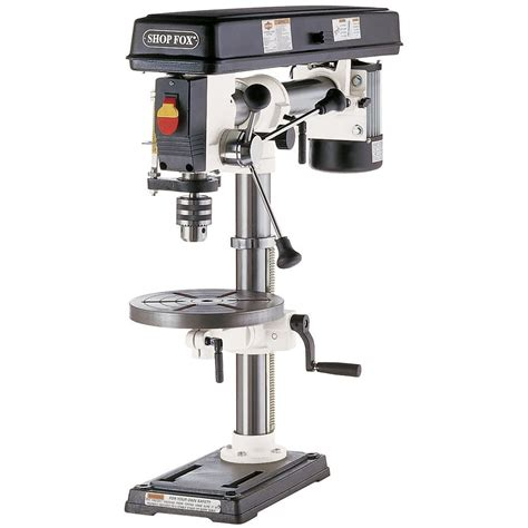 bench drill presses shop fox w1669 1 2 hp benchtop radial drill press ebay