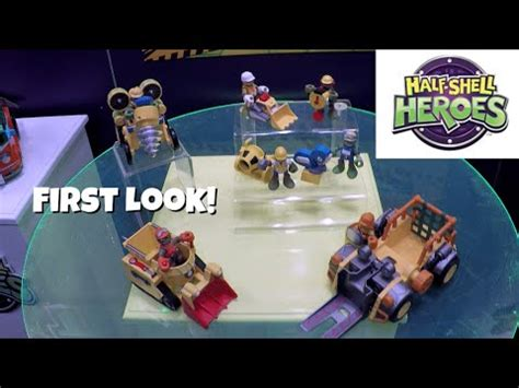 tmnt cowabunga construction toys half shell heroes [first