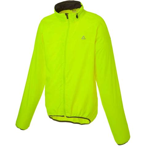 mens hi vis cycling jacket dare2b mens wind and rain resistant cycling jacket hi vis
