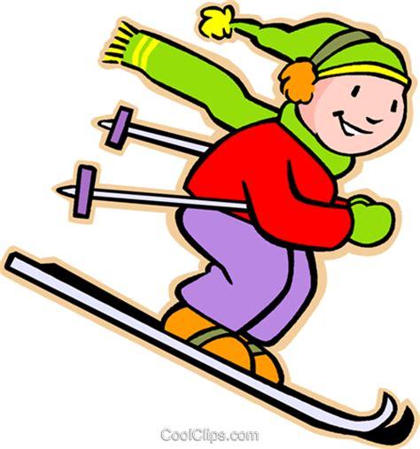 Barn Designs by Junge Skifahren Vektor Clipart Bild Vc005554 Coolclips Com