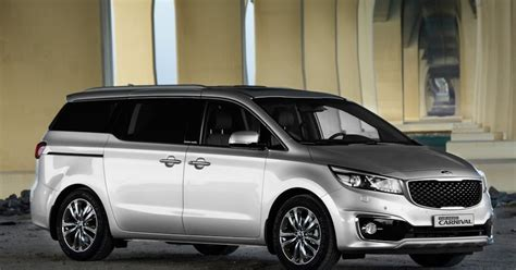 Kia Grand Carnival Updated Kia Philippines Springs Grand Carnival