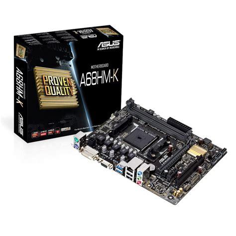 Diskon Motherboard Asus A68hm Plus Socket Fm2 asus a68hm k carte m 232 re asus sur ldlc