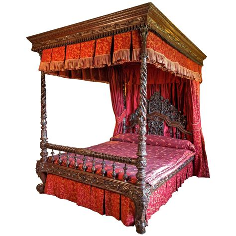 four poster bed 19th century anglo indian four poster bed at 1stdibs