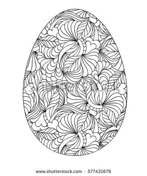 abstract easter coloring pages kiyanochka1 s portfolio on shutterstock