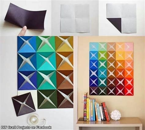 How To Make Paper Decorations For Your Room - 17 best ideas about paper wall decor on paper