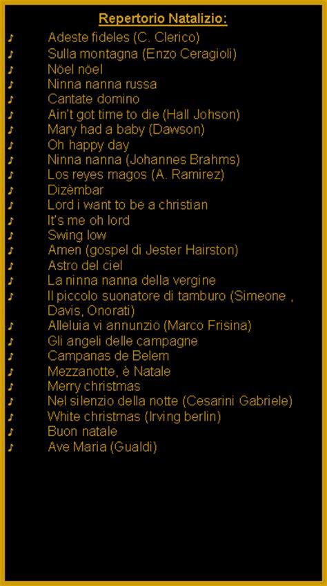 testo happy repertorio