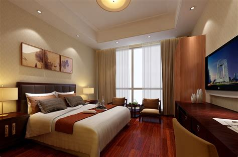 Hotel Room Wooden Floors And Closet Design | hotel room design download 3d house