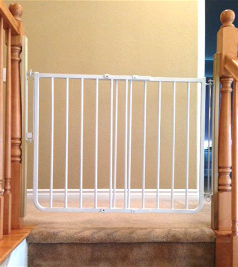 safety gate for top of stairs with banister custom baby safety stair gate baby proofiing chula vista